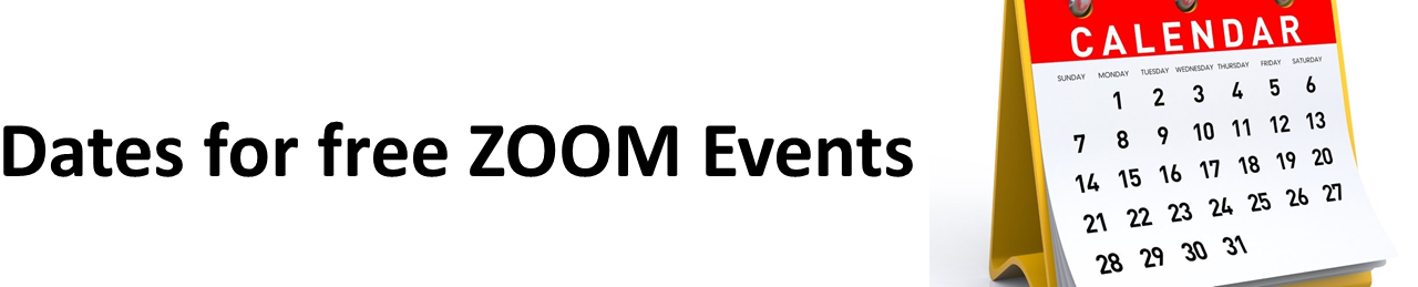 Free Zoom Events