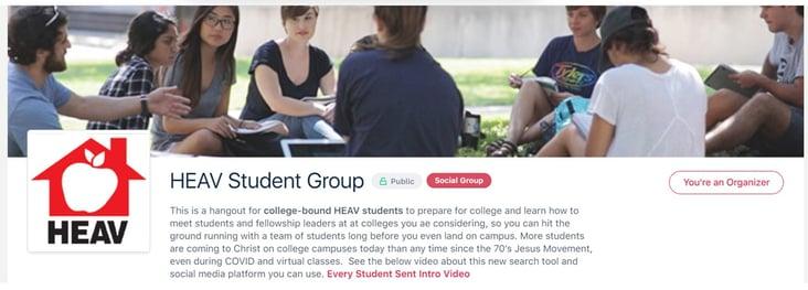 HEAV student group image
