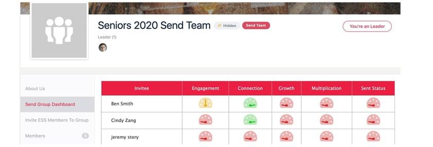 Send Team image